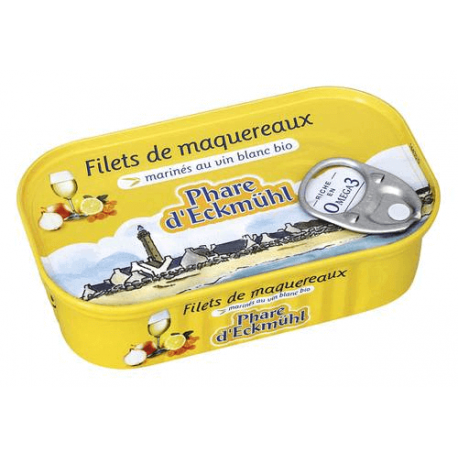 FILETS MAQUEREAUX AROMATES 118
