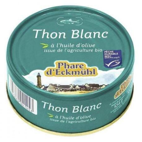 THON BLANC HUILE D'OLIVE 160 G