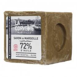 CUBE DE SAVON DE MARSEILLE OLIVE 300G