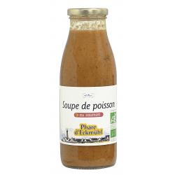 SOUPE DE POISSON AU SAUMON 500G
