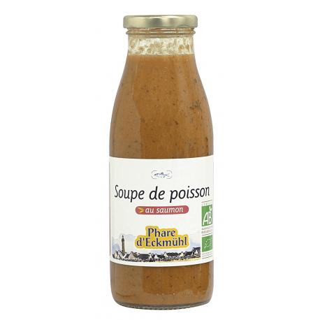 SOUPE DE POISSON AU SAUMON BIO 500G