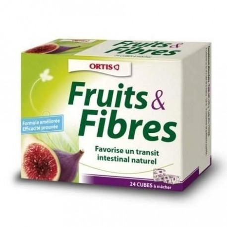 FRUITS FIBRES REGULAR 24 CUBES
