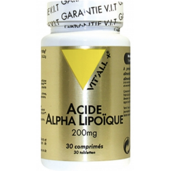 ACIDE ALPHA LIPOIQUE 200MG 30 COMP