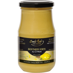 MOUTARDE FORTE CITRON 350G