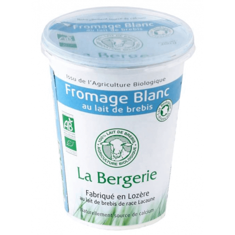 FROMAGE BLANC BREBIS NATURE 400G CC