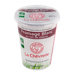 FROMAGE BLANC CHEVRE 400G CC