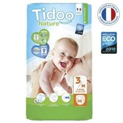 56 COUCHES ECO T3/M 4-9KG