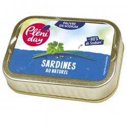 SARDINE AU NATUREL 115G S/SEL