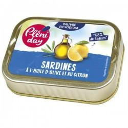 SARDINES HUILE OLIVE CITRON SS SEL