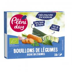 BOUILLON DE LEGUMES 6X9G