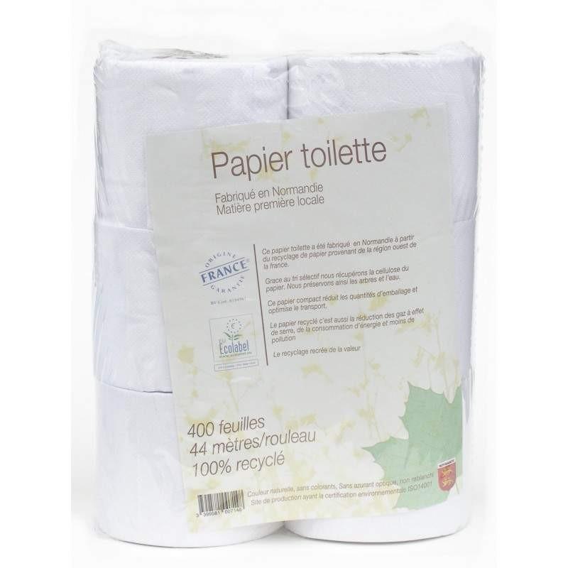 PAPIER TOILETTE 6 ROULEAUX