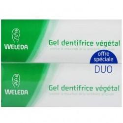 DUO GEL DENTIFRICE VEGETAL 2x75ML