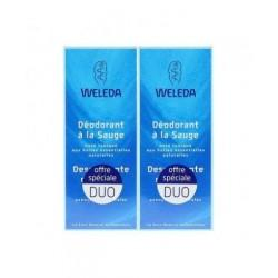 DUO DEODORANT SAUGE 2x100ML