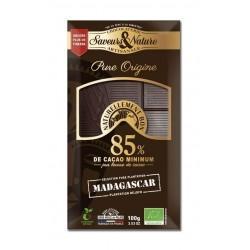 TABLETTE CHOCOLAT NOIR 85% MADAGASCAR