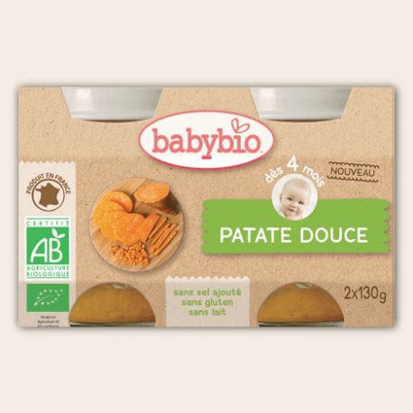 POT PATATE DOUCE 2X130G