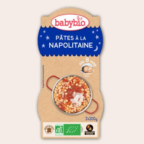 BOL BONNE NUIT PATES A LA NAPOLITAINE TOMATE 2X200G