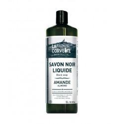 SAVON NOIR AMANDE LIQUIDE 1L | LA CORVETTE - NETTOYANTS