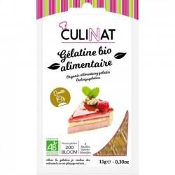 GELATINE ALIMENTAIRE 11G (5 A 7 FEUILLES) | CULINAT - AIDE PATISSERIE
