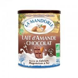 LAIT AMANDE CHOCOLAT 400G | LA MANDORLE - BOISSONS VEGETALES