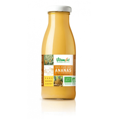 MINI PUR JUS D'ANANAS 25CL