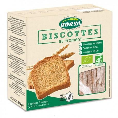 BISCOTTE AU FROMENT 300G (2X17 TRANCHES)
