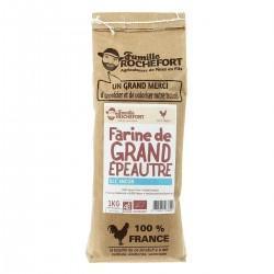 FARINE MEULE DE GRAND EPEAUTRE T120 1KG | ROCHEFORT - FARINES AUTRES
