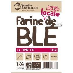 FARINE MEULE DE BLE T110 1KG | ROCHEFORT - FARINES DE BLE