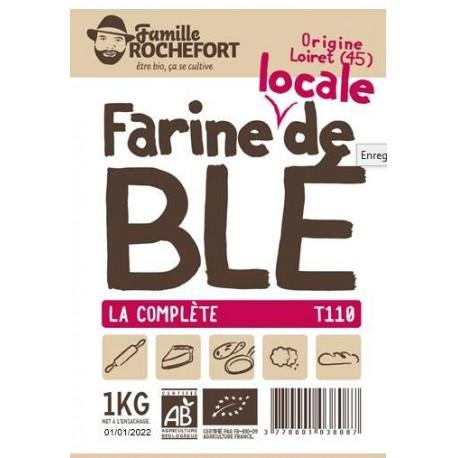 FARINE MEULE DE BLE T110 1KG