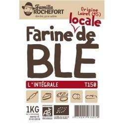 FARINE MEULE DE BLE T150 1KG | ROCHEFORT - FARINES DE BLE