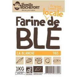 FARINE MEULE DE BLE T65 1KG | ROCHEFORT - FARINES DE BLE