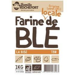 FARINE MEULE DE BLE T80 1KG | ROCHEFORT - FARINES DE BLE