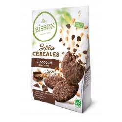 SABLES CEREALES CHOCOLAT 200G