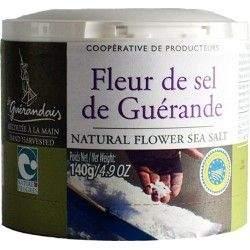 FLEUR DE SEL DE GUERANDE BOITE 140G |  - SELS