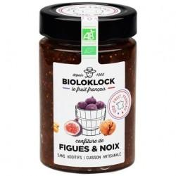 CONFITURE FIGUE-NOIX FRANCE 230G | BIOLO'KLOCK - CONFITURES / GELEES