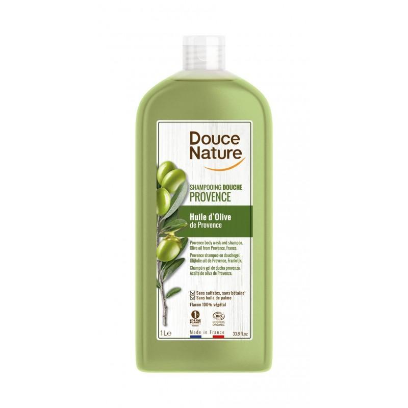 SHAMPOOING DOUCHE HUILE D'OLIVE 1L | DOUCE NATURE - GELS DOUCHE