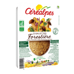 GALETTE DE CEREALES COMPLETES FORESTIERE