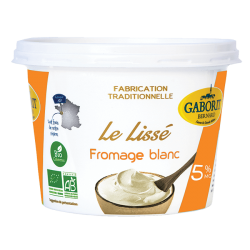 FROMAGE BLANC LISSE 5% MG 500G