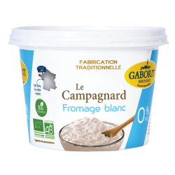 FROMAGE BLANC CAMPAGNARD 0% MG 500G