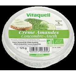 CREME AMANDES CONCOMBRE ANETH 125G