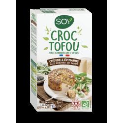 CROC TOFOU-CHEVRE-EPINARDS 200G