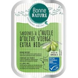 SARDINES HUILE D'OLIVE VIERGE EXTRA 115G