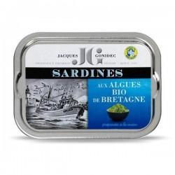 SARDINES AUX ALGUES DE BRETAGNE 115G