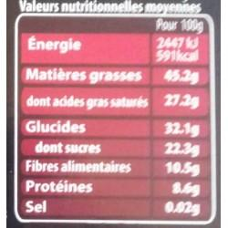 CHOCOLAT NOIR A L ORANGE 100 GR