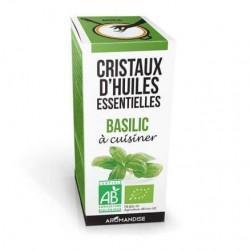 CRISTAUX HUILE ESSENTIELLE BASILIC