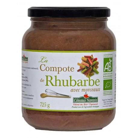 COMPOTE RHUBARBE 725 G