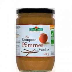 COMPOTE POMME VANILLE 660G