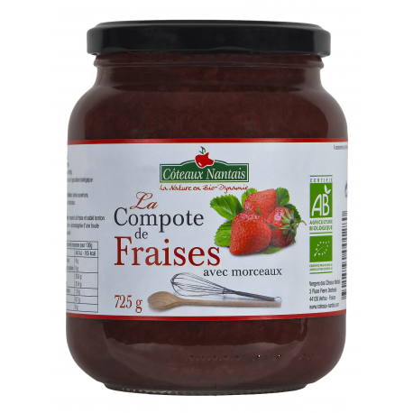 COMPOTE FRAISE 725G