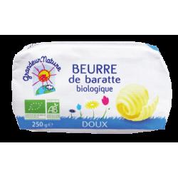BEURRE DE BARATTE DOUX 250G