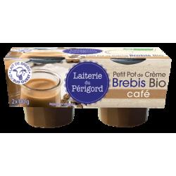 CREME DESSERT BREBIS CAFE 2X100G