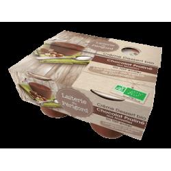 CREME DESSERT CHOCOLAT PRALINE NOISETTE 4X105G